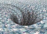 Финансовая дыра в обанкротившихся банках превысила полтриллиона